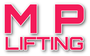 Logo M P Lifting, Denbigh, North Wales.